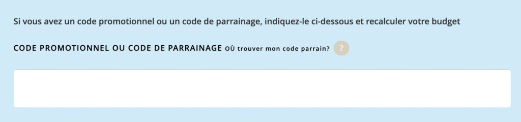 Code de parrainage ENI