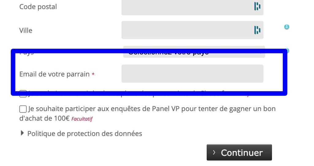 email parrain shoes_fr