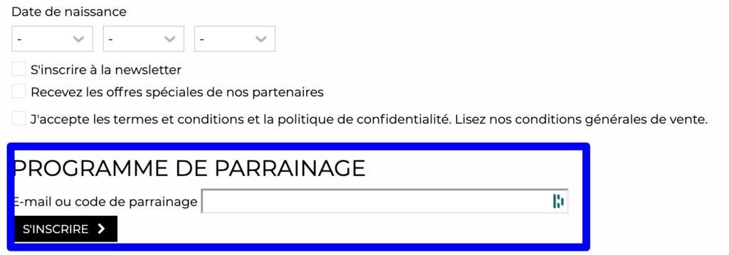 code parrainage GrungeMama